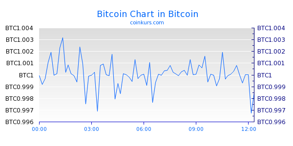 Bitcoin Chart Intraday